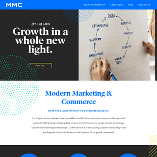Modern Marketing & Commerce - MMC Is Growth, Reinvented