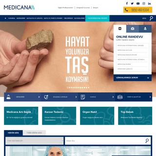 Anasayfa - Medicana
