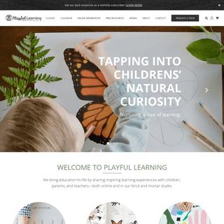 Playful Learning – Playful Families. Playful Schools. Playful World.