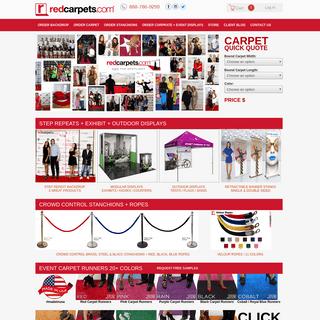 ArchiveBay.com - redcarpets.com - RedCarpets.com - Event Carpet Runners + Step Repeat Backdrops