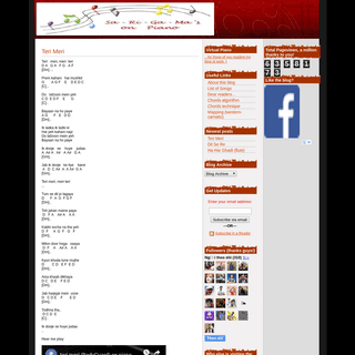 Music notes for Hindi songs