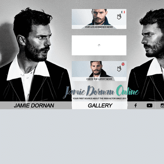 Jamie Dornan Online - Your french & english source