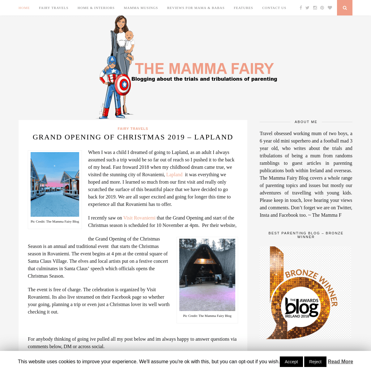 The Mamma Fairy - My Blog