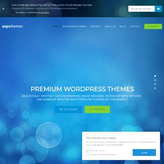 Making WordPress Themes Look Good - Anpsthemes
