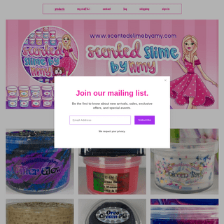Scented Slime by Amy
