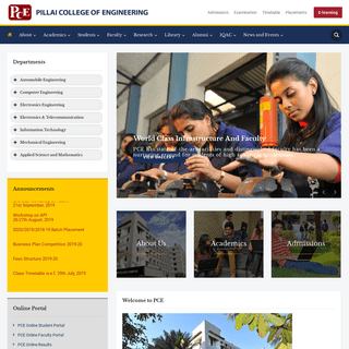ArchiveBay.com - pce.ac.in - PCE - PILLAI COLLEGE OF ENGINEERING