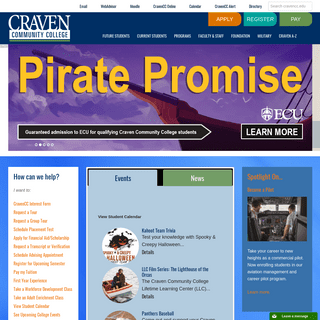 Craven Community College – Enriching Lives Creating Futures