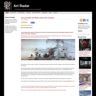Art Radar - Contemporary art trends and news from Asia and beyond