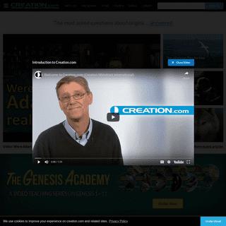 Creation - Creation Ministries International