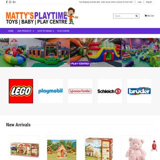 ArchiveBay.com - mattysplaytime.com.au - Matty's Playtime - Toy Shop - Baby Shop - Indoor Play Centre
