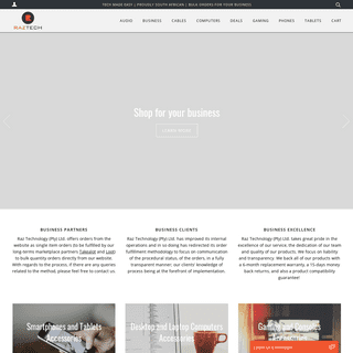 Tech Accessories for All Your Devices - Raz Tech Online Shop