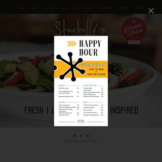 HOME - Starbelly Restaurant