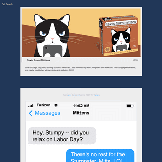 ArchiveBay.com - textsfrommittens.com - Texts from Mittens