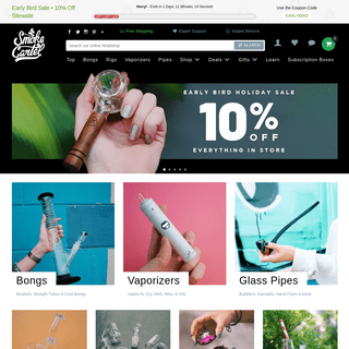 Online Head Shop - Smoke Cartel - Free Shipping on Bongs, Pipes & More