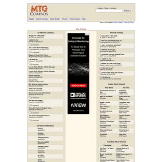 MTGCombos.com- Magic the Gathering Combos