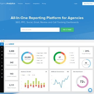 SEO Reporting Tool & Marketing Dashboards for Agencies - AgencyAnalytics