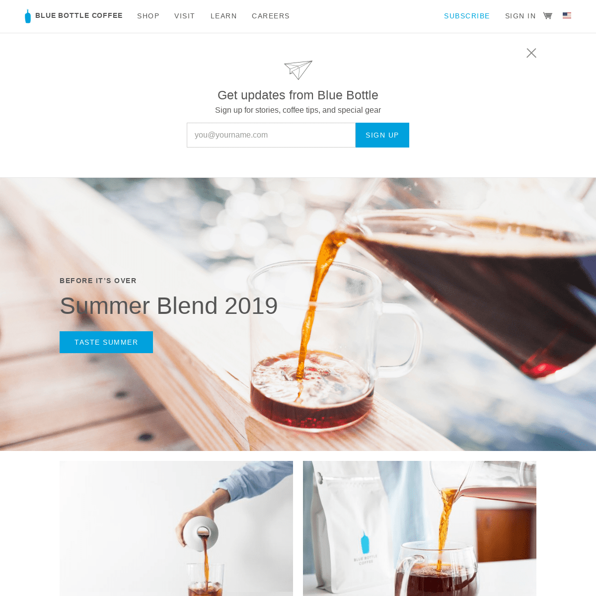 Coffee Roaster - Brewers, Subscriptions & Brew Guides - Blue Bottle Coffee