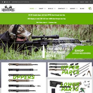 Home - Grendel Hunter - The Modern Sporting Rifle