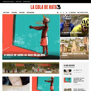 ArchiveBay.com - lacoladerata.co - La Cola de Rata – Periodismo, Investigación, Crónica y Opinión