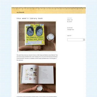 inchmark - inchmark journal