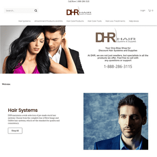 Discount Hair Replacement Systems and Supplies