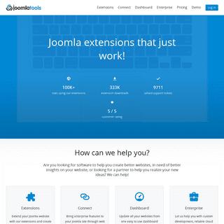 Joomlatools - Joomla extensions that just work