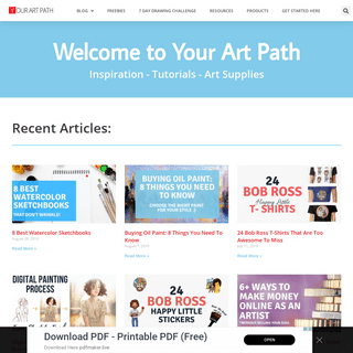 Your Art Path Home – YourArtPath