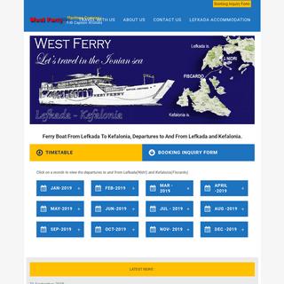 Ferry Tickets To Kefalonia, Lefkada - Kefalonia Ferry Boat - Ferry Boat To Kefalonia, Lefkada- Kefalonia, Ferry Tickets