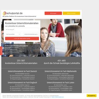 Schulportal - Unterrichtsmaterial für Lehrer und Referendare