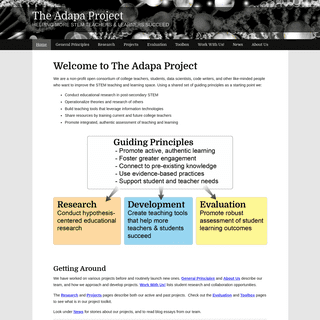 The Adapa Project – Helping More STEM Teachers & Learners Succeed