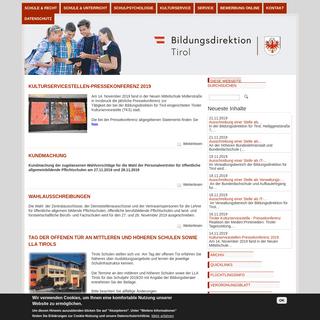 Bildungsdirektion Tirol - Im Dienste der Tiroler Bildung