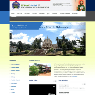 St. Thomas College of teacher education - Minority Educational Institution
