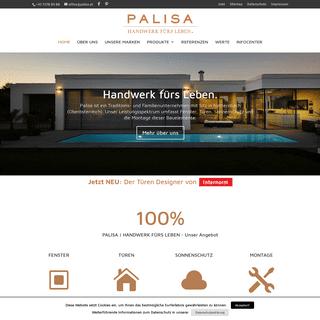 Palisa - Handwerk fürs Leben.