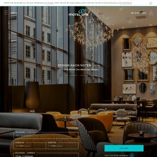 ArchiveBay.com - motel-one.com - Motel One - Günstige Design Hotels in Berlin, München, Wien, Manchester buchen