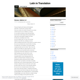 Latin in Translation