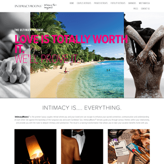 IntimacyMoons™ - Private and Group Couples Retreats