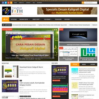 Spesialis Desain Grafis & Multimedia Konsep dan Konten Islami - Kaligrafi Digital