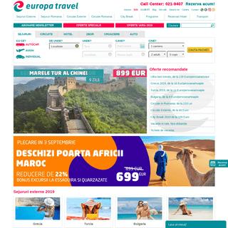 ArchiveBay.com - europatravel.ro - Europa Travel - Agentie Turism - Vacante ieftine, turisti fericiti