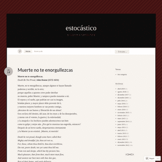 ArchiveBay.com - estocastico.org - estocástico « el ruido de la incertidumbre