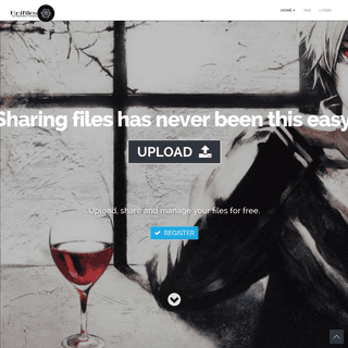 Upload Files - Sharing files has never been this easy.