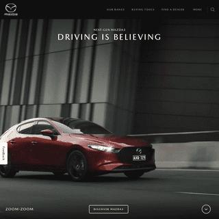 ArchiveBay.com - mazda.com.au - Mazda Australia - New Cars, Offers, Dealerships - Zoom-Zoom