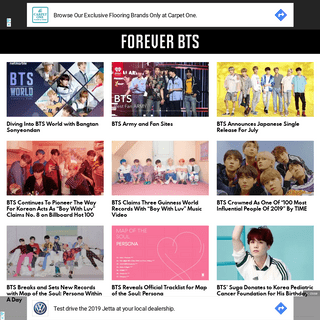Forever BTS - Bringing you the latest on BTS