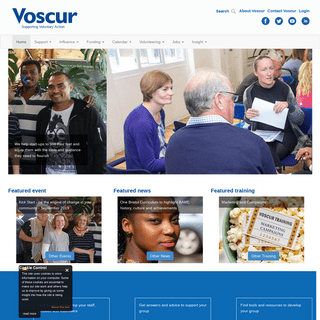 Voscur - Supporting Voluntary Action