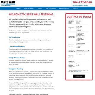 Home - James Wall Plumbing
