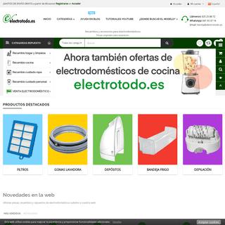 ArchiveBay.com - electrotodo.es - Electrotodo Recambio de Electrodomésticos