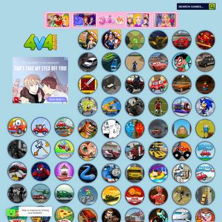 4v4.com - Cool games