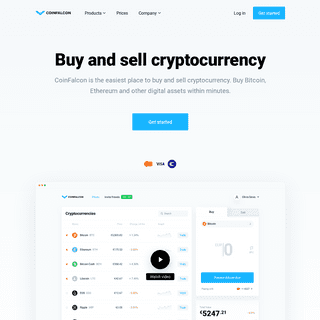 CoinFalcon – Buy and Sell Bitcoin, Ethereum - Cryptocurrency Exchange