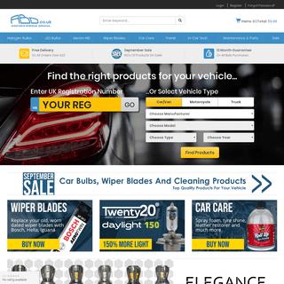 Car Bulbs, Headlight Bulbs, Wiper blades, headlamp bulbs, Xenon Bulbs- ABD.co.uk