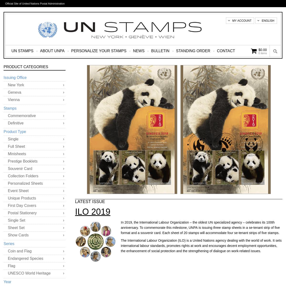 ArchiveBay.com - unstamps.org - UN Stamps - UN Stamps