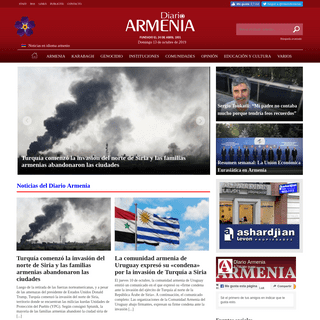Diario Armenia - Armenia en Argentina